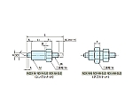 インデックスプランジャー(ノブ無し) NDX10AN-M4-SUS NDX10AN-M4-SUS