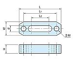 プレーンストラップ(ねじ穴付き) BJ159