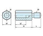 タイロッドボルト M12×1.75 ステンレス BJ610等
