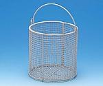 ETFEコーティング丸型洗浄カゴ