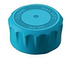Screw Cap Bottle Light-Blue Cap GL-45 017310-4514A