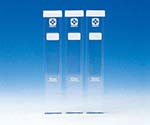 Square Test Tube with Silicone Cap 080540-0210A