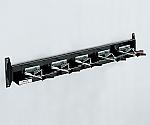 モップハンガー D型 壁掛式 5本掛 CE-491-205-0