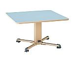 ガス収納・昇降式(X脚)テーブル