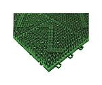 ブラシマットD本体 150×150mm グリーン 408001