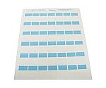レーザープリンタ用セルフラミネートラベル 青 S100X150YBJD