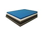 発泡ポリエチレンシート ソフト 5mm 1m×1m 青 TPES0510B