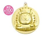 [取扱停止]ゴールド・3Dビッグメダル