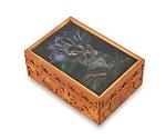 アートガラス付 マルチオルゴール箱