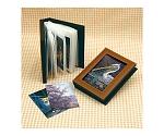 レザー調写真ファイル アートガラス 13423