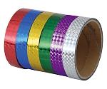 粘着ホログラムテープ(10本組)紫 14073