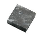 まが玉黒蝋石35×35×12mm(穴あり)のみ