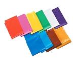 橙 カラービニール袋(10枚組) 45538