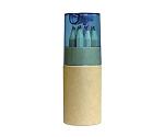 鉛筆削り付色鉛筆 12色