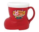 クリスマスブーツ型マグカップ