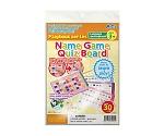 Name Game Quiz Board 79001