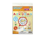 Telling Time Activity Clock 79003