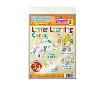 Letter Learning Cards 79013
