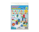 Stack & match Colorful Dominoes 79019