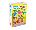 Names & Numbers Learning Cards
