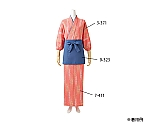 はっぴ レディス 7分袖 薄紅 桜吹雪柄 3-371
