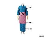 和風ラップスカート 瑠璃 都小桜柄 7-373