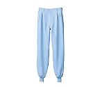 パンツ 兼用 ブルー エコ 裾フライス 7-472CB