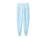 パンツ 兼用 ブルー エコ 裾フライス 7-522