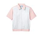 ジャンパー 兼用 半袖 白/ピンク エコ 8-436等
