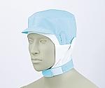 ショート頭巾帽子 ブルー エコ 9-1017
