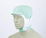 ショート頭巾帽子 グリーン エコ 9-1018