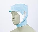 ショート頭巾帽子 ブルー エコ 9-1027