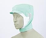 ショート頭巾帽子 グリーン エコ 9-1028