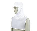 頭巾帽子 白 9-1041