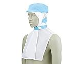 頭巾帽子 ブルー エコ 9-1052