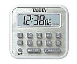 デジタルタイマー 100時間計 TD-375-WH ホワイト 406010