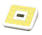 電子音タイマー 100分計 MT601C ホワイト×イエロー