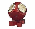 トリオ気象計 135×110×110mm 600g(ギフトボックス)