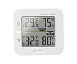 コードレス温湿度計 親機:148×140×25mm 220g