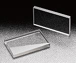 円筒面平凸レンズ(合成石英 10×10mm~20×30mm)