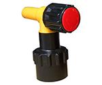 ワンタッチ給油栓コッくんPタイプφ40赤ブレーキ油仕様 MWC-40PR-BRAKE