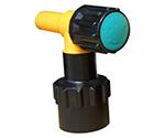 ワンタッチ給油栓コッくんPタイプφ40青ブレーキ油仕様 MWC-40PB-BRAKE