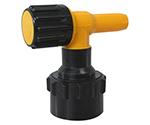 ワンタッチ給油栓コッくんPタイプφ50黄ブレーキ油仕様 MWC-50PY-BRAKE