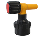 ワンタッチ給油栓コッくんPタイプφ50赤ブレーキ油仕様 MWC-50PR-BRAKE