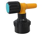 ワンタッチ給油栓コッくんPタイプφ50青ブレーキ油仕様 MWC-50PB-BRAKE