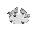 Q-ロック内蔵丸型プレート交換(5軸バイス付き)