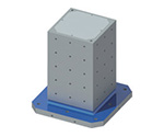 MCツーリングブロック(4面スタンダードタイプタップ穴仕様) TPHシリーズ等