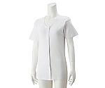 婦人3分袖大寸ホックシャツ ホワイト