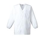 C101 男子白衣(長袖) ホワイト