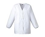 C201 女子白衣(長袖) ホワイト
